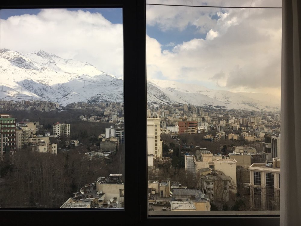 Shaghayegh Cyrous, 11:40 AM __________ ١١:٤٠ صبح February, 14, 2017 __________ ٢٦ بهمن ١٣٩٥ Tehran, Iran __________ تهران، ايران, printed photograph, 2017. Image courtesy of the artist.
