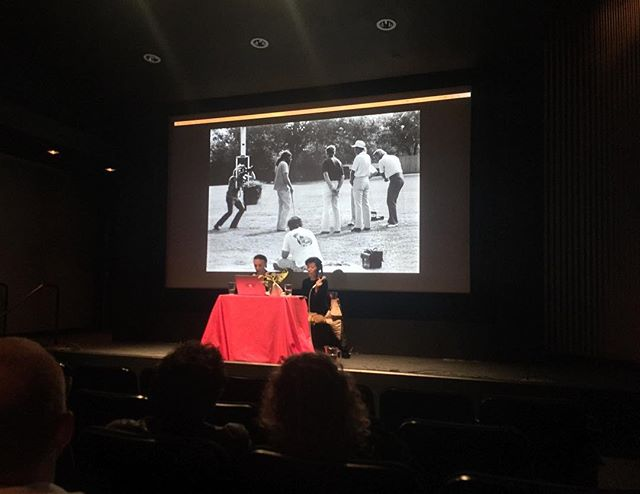 At The Nation's Finest: Sports, Art, and the Moving Image @ybca with @sfcinematheque and @incite_journal