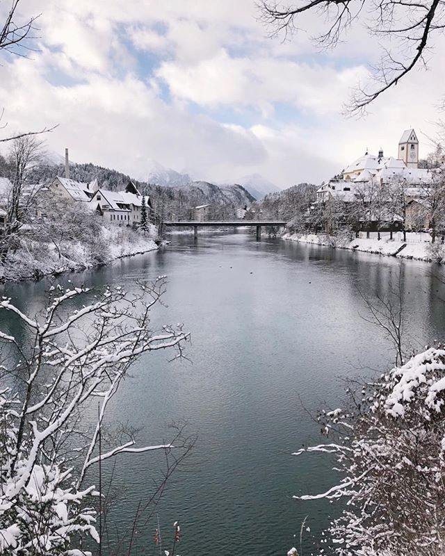 Enjoyable trip to Narnia. ❄️ #Bavaria 🇩🇪
