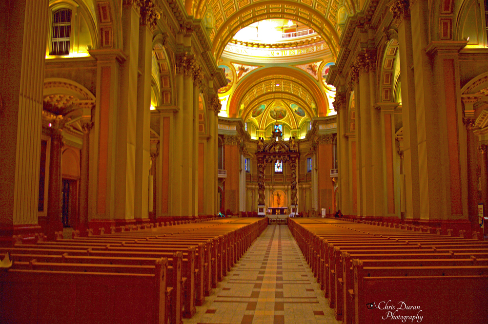 Inside The Beautiful Mary, Queen of the World Cathedral