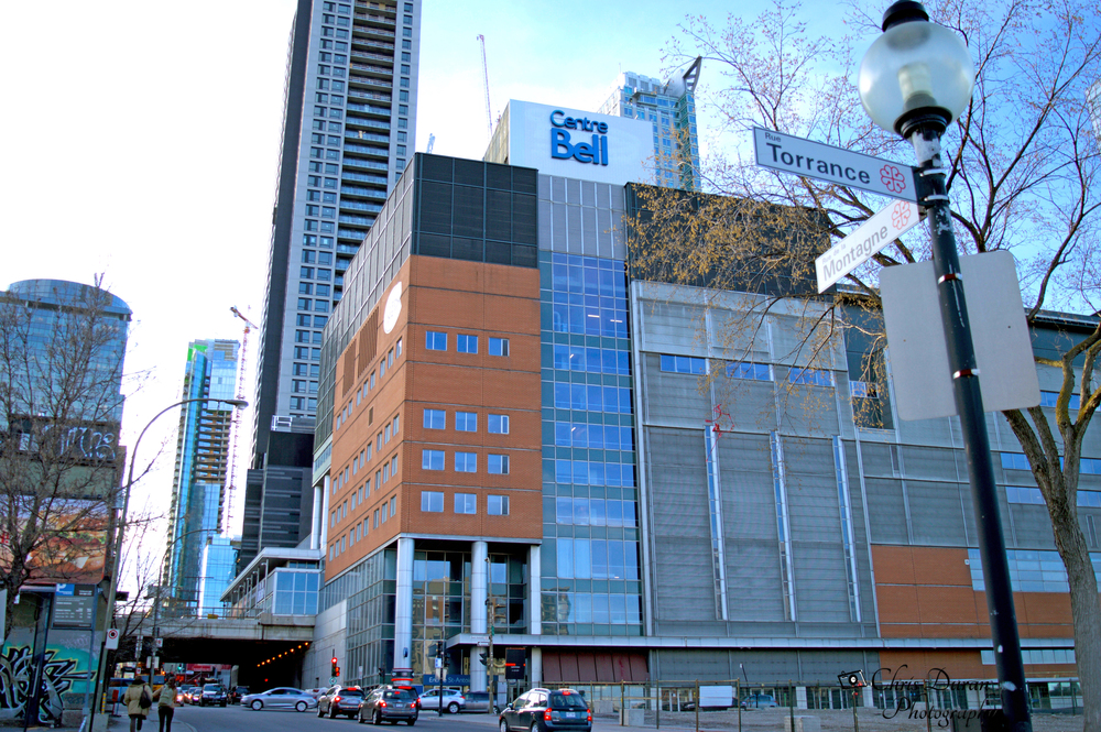 The Bell Center in Downtown Montreal