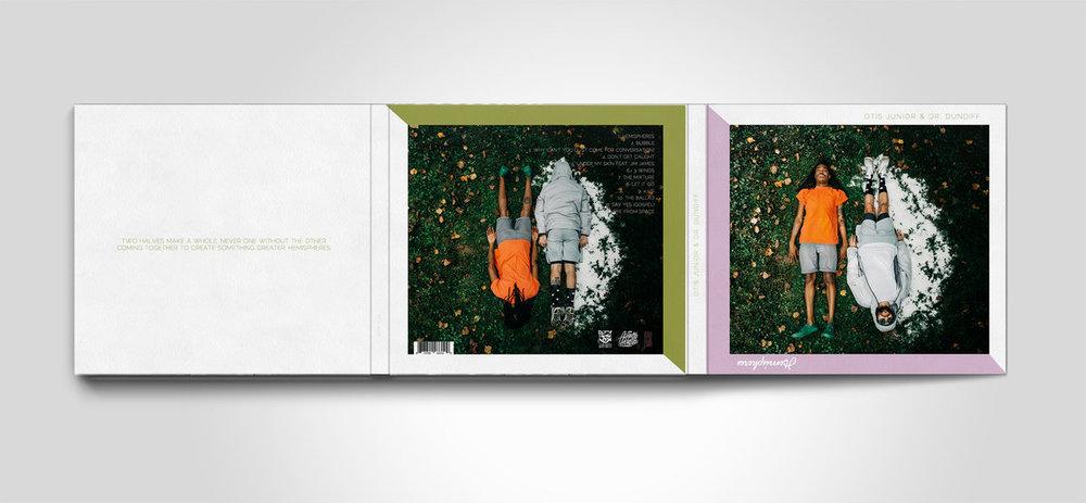 OTIS JUNIOR & DR. DUNDIFF - HEMISPHERES CD (JAKARTA RECORDS 2017)