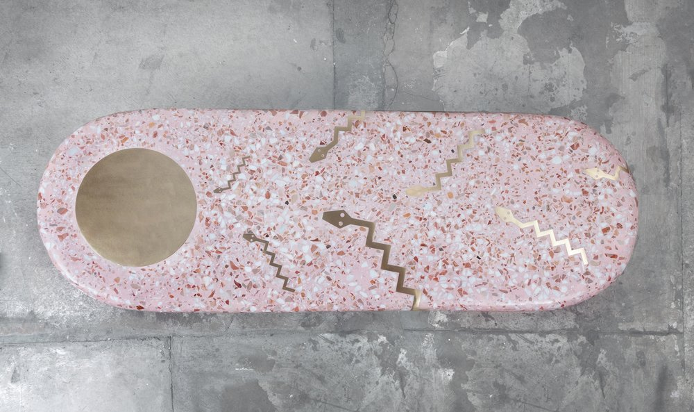 Head to the Light Terrazzo Coffee Table