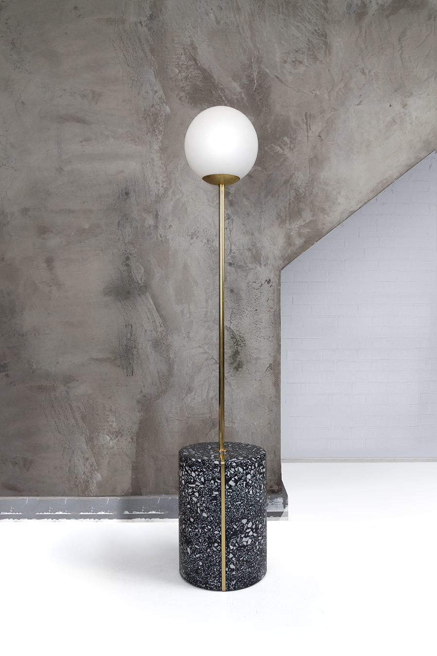 Moon Pole Lamp