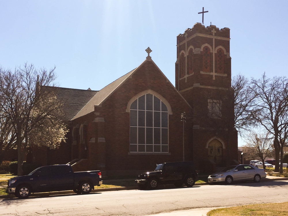 View of Church of the Good Shepherd from 10th Street