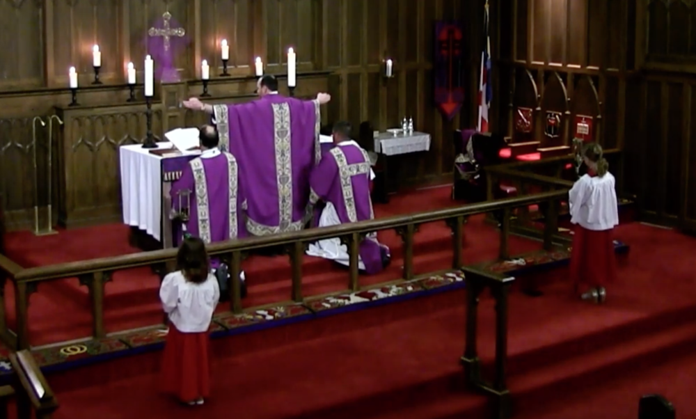 "The ""Memorial"" during Mass for the Second Sunday in Lent—worship that impresses a sense of God's majesty and beauty."