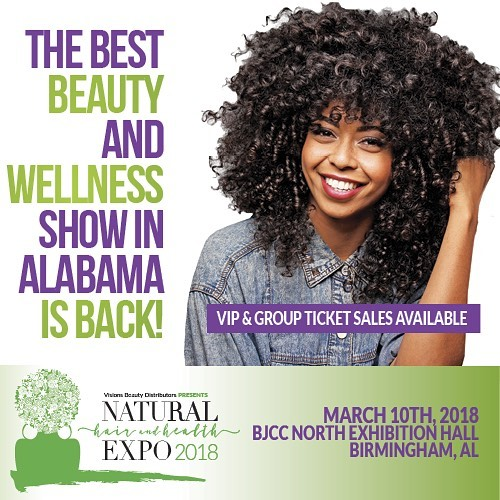 If you're in or near Birmingham this is where you MUST be today!! Head over to @mynaturalhairexpo to grab a ticket (link in bio)! Black girl magic and Black boy joy all around! 💫