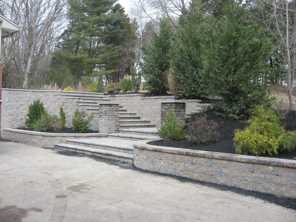 Hardscaping adds luxury