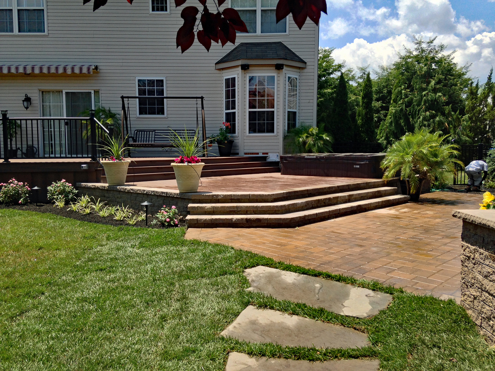 South Jersey custom deck design