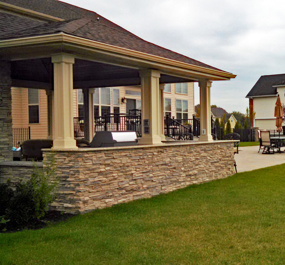 Custom Patios, Pavilions, Pergolas, U0026 Outdoor Living Spaces By The Burpee  Group