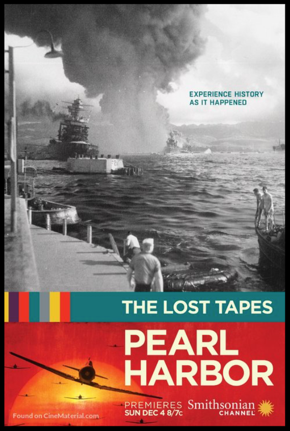 The Lost Tapes: Pearl Harbor  - Bandcamp (+) For the Smithsonian Channel
