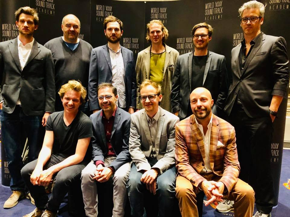 SABAM Composers @ World Soundtrack Awards 2018