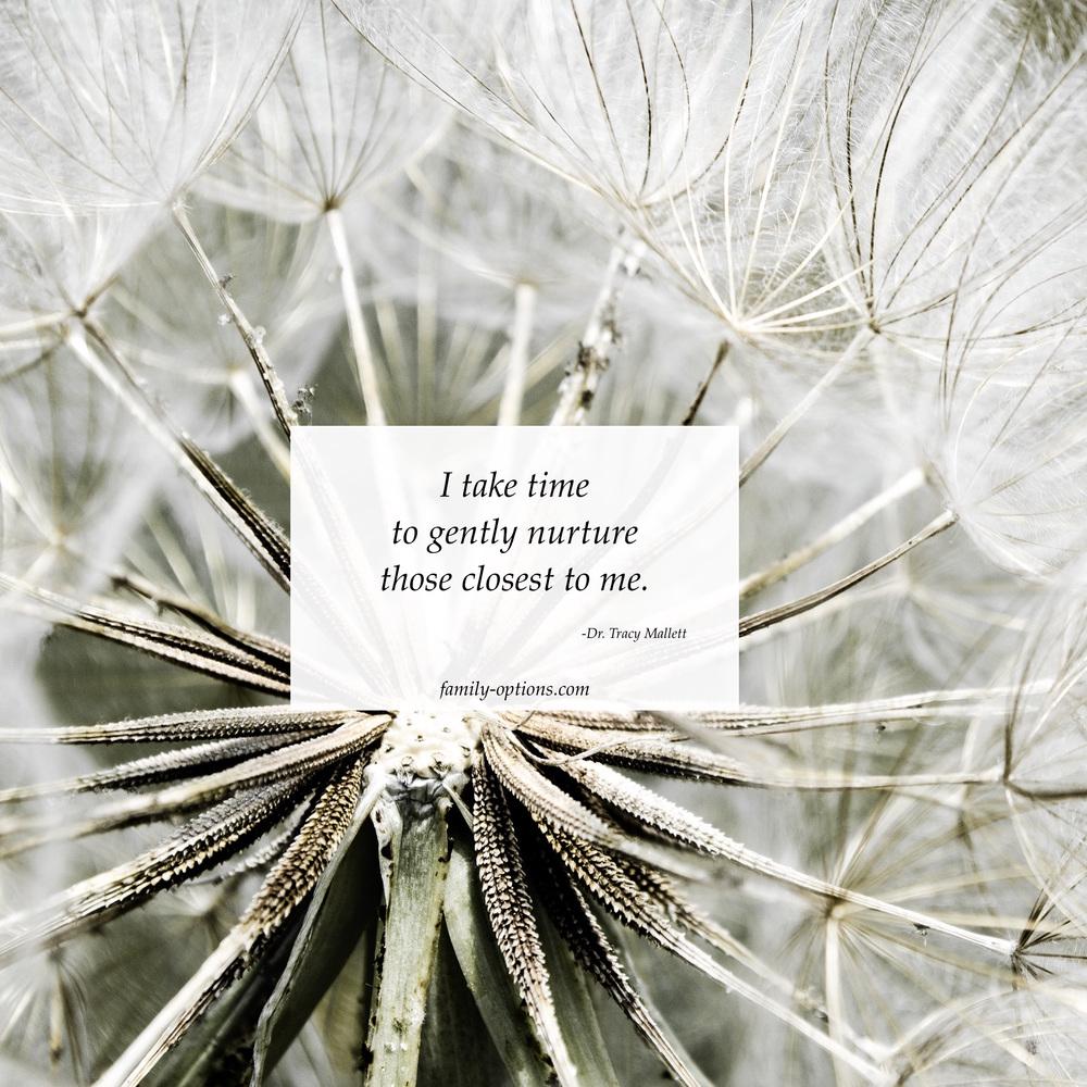 Gentle nurture