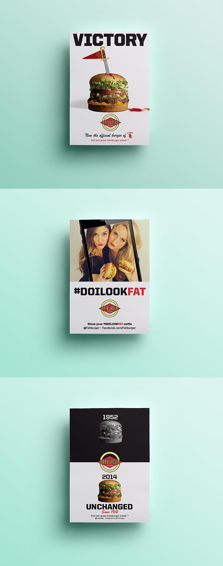 Fatburger // Ad Campaign
