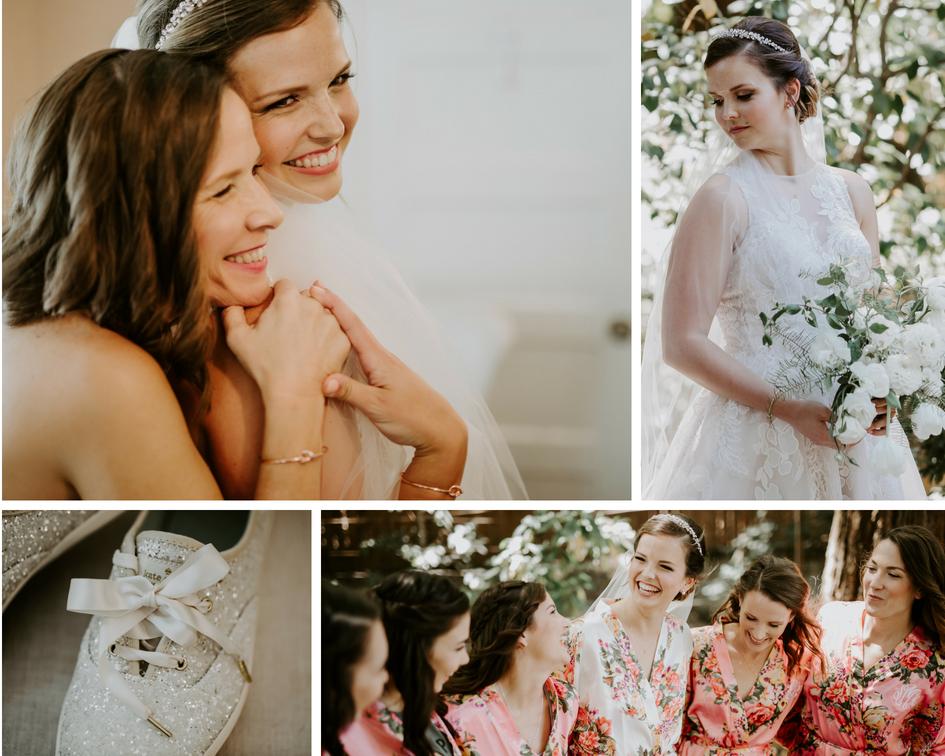 CA elegant rustic wedding
