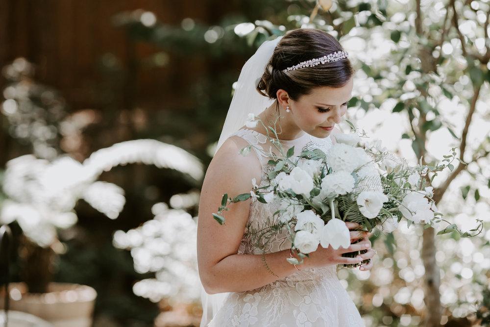 Elegant Rustic Wedding Florals