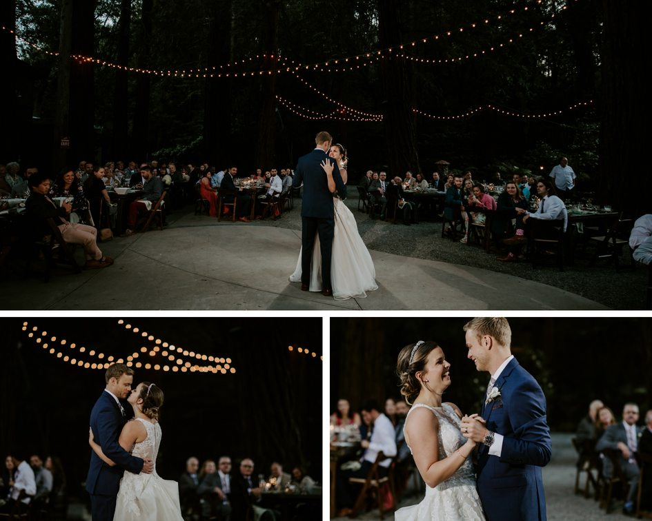 CA outdoor Wedding