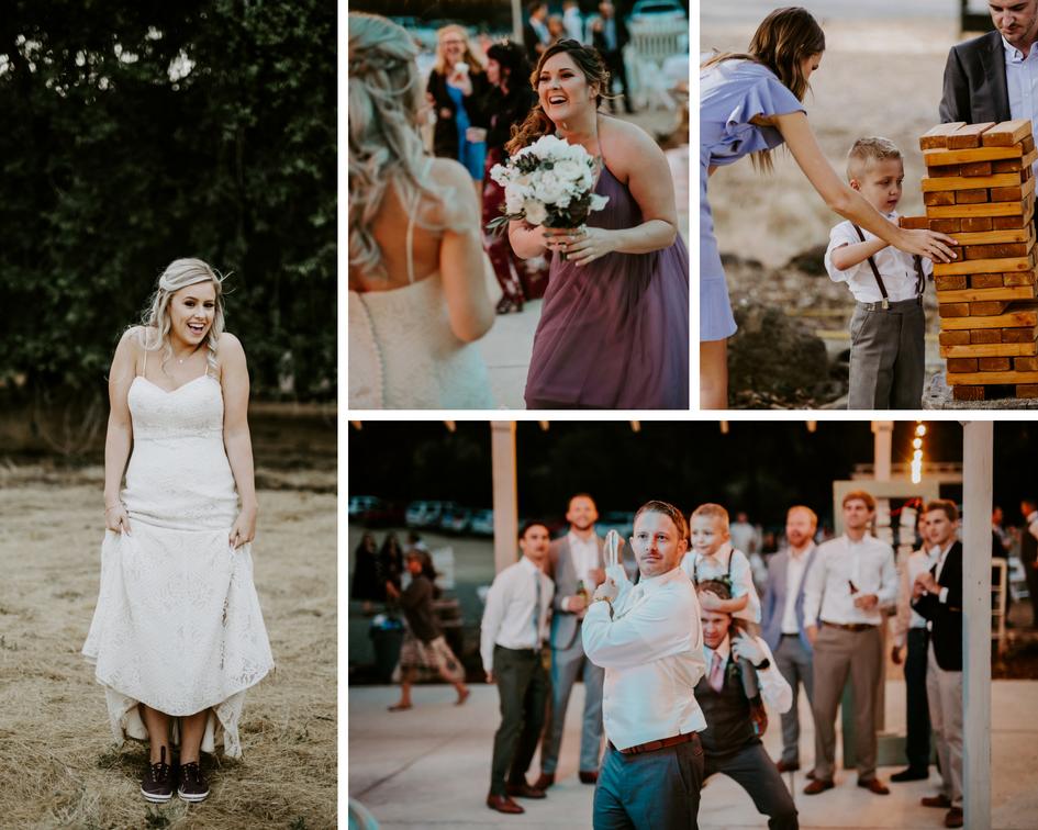 Bride in Keds