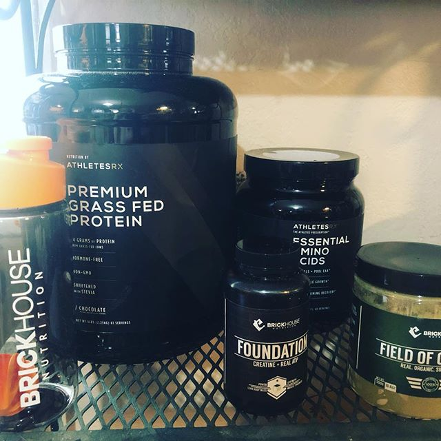 """The """"Stack"""". I can't say enough good things about the supplements from Brickhouse Nutrition."""