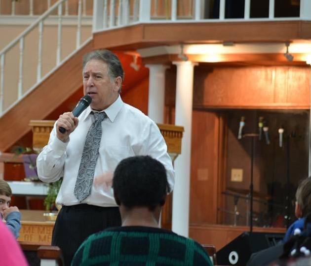 Winslow Preaching