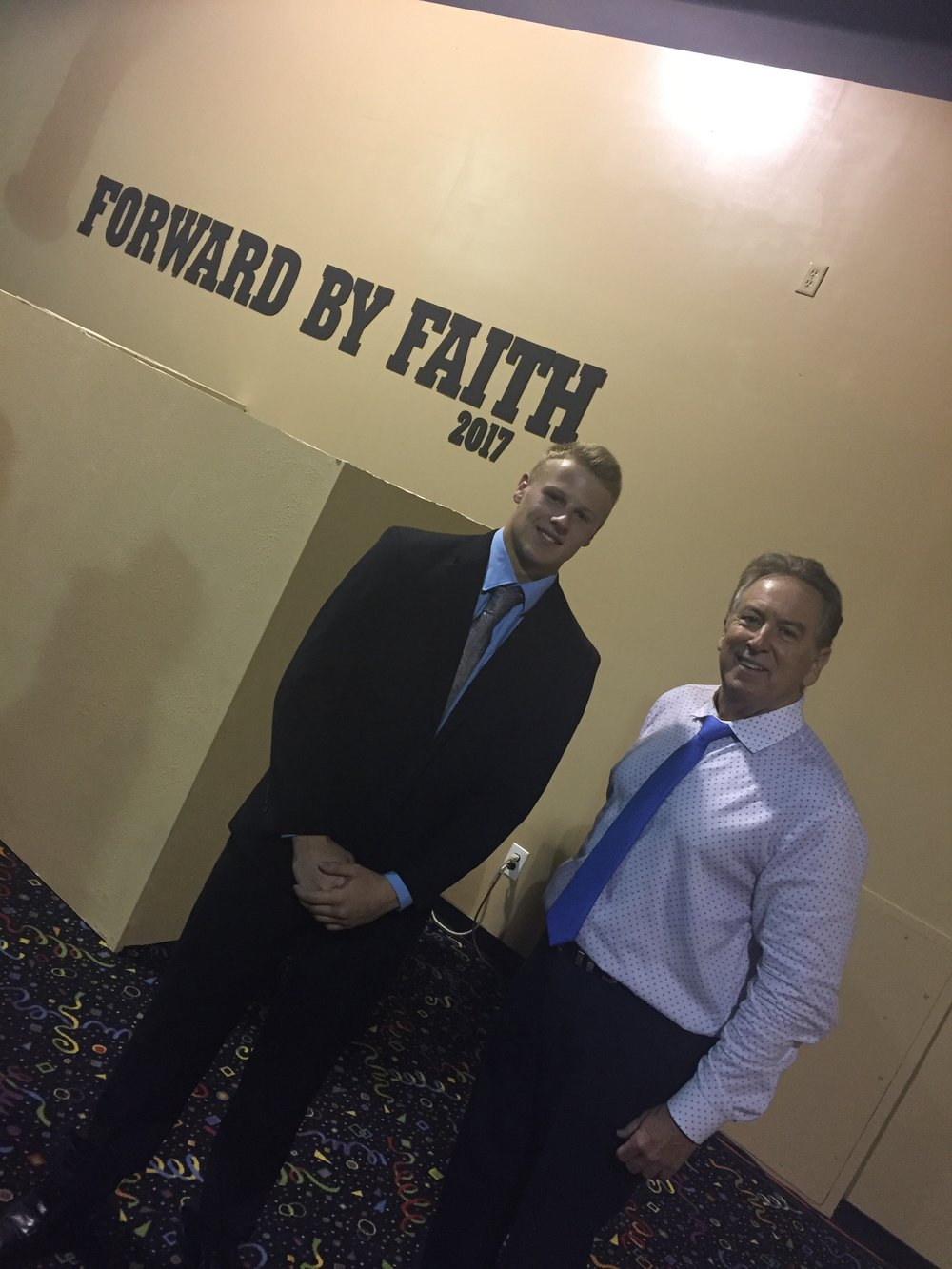 "Red Oak, Texas; Steven Hanks received ""Spirit of Elijah"" prophesied to him."