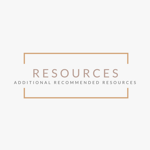 Recommended additional reading/resources