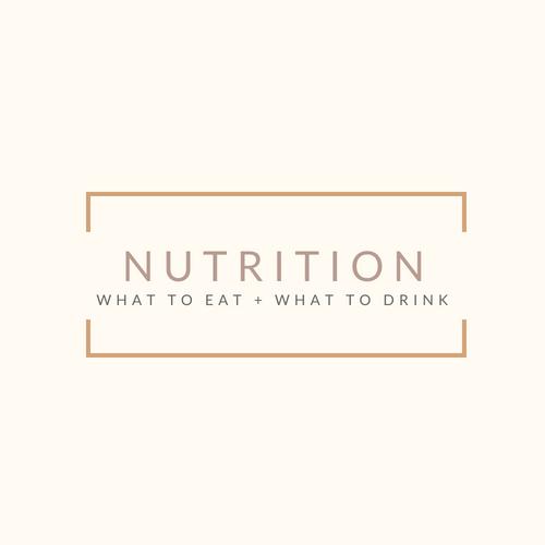 Nutrition + Hydration