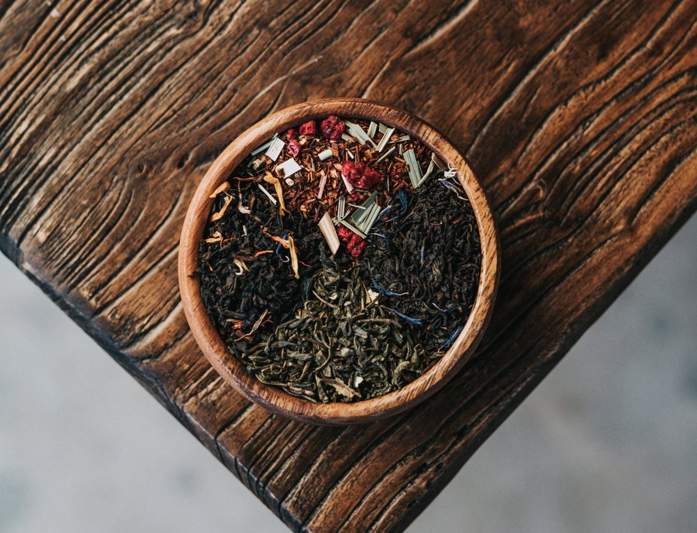 Tea Blending for Autumn - This time of year, as the nights grow colder and the mornings are crisp, tea is a welcome feeling, adding a sense of magic and ritual to our seasonal experience. Learn more about a few of my favorite (and easy) blends for Autumn.