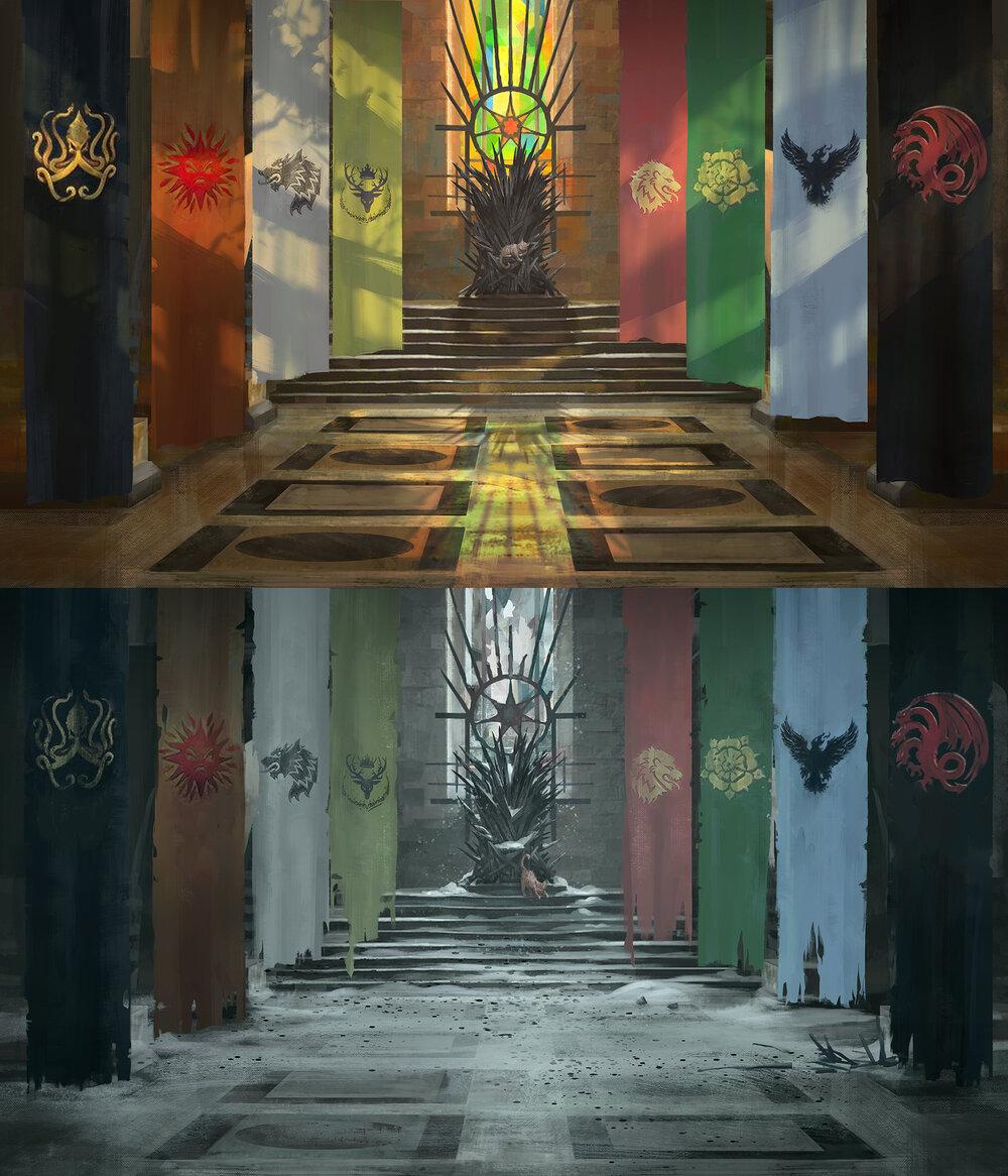 Custom Game of Thrones LCG Playmat
