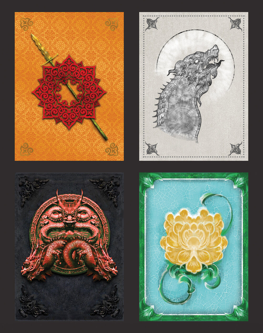 Custom Game of Thrones LCG Card Backs