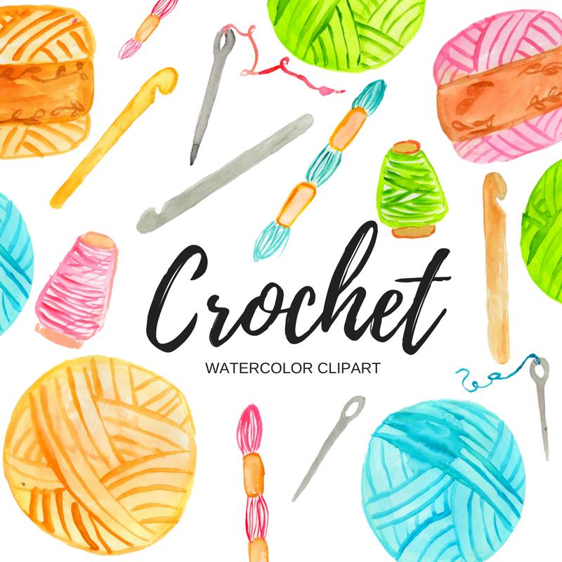 watercolor crochet clipart writelovely rh writelovely com crochet clipart black and white croquet clipart free