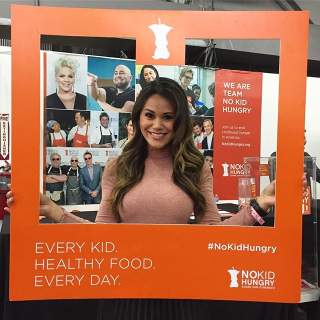 Excited to be at #NYCWFF this weekend, and proud to support @NoKidHungry! #nokidhungry #queenbinnyc