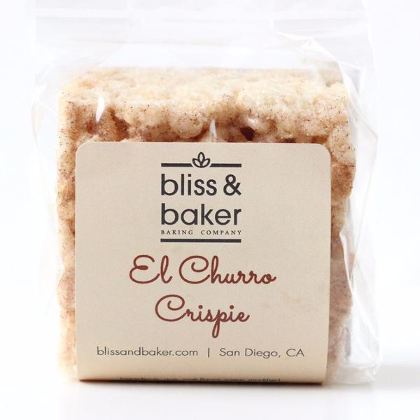 Bliss and Baker  El Churro Crispies $18.00 for 4