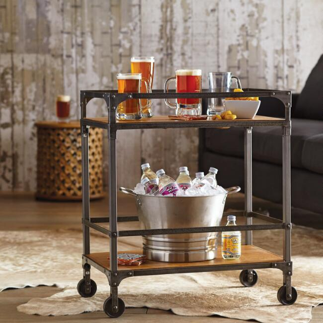 World Market  Aiden Bar Cart $199.00