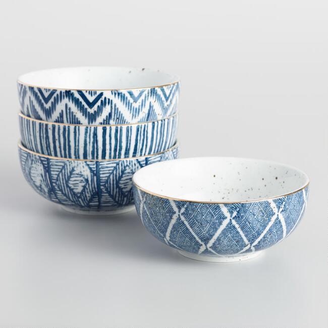 Blue & White Bowls