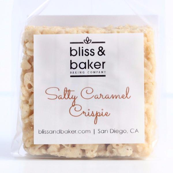Bliss and Baker  -Small batch artisan crispie treats