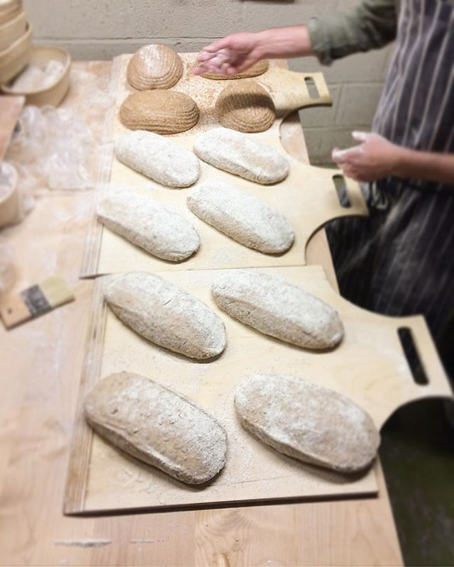 New loading boards for the rofco. Thanks to @alfiewoodcock. #bakery #rofco #handmade #sourdough