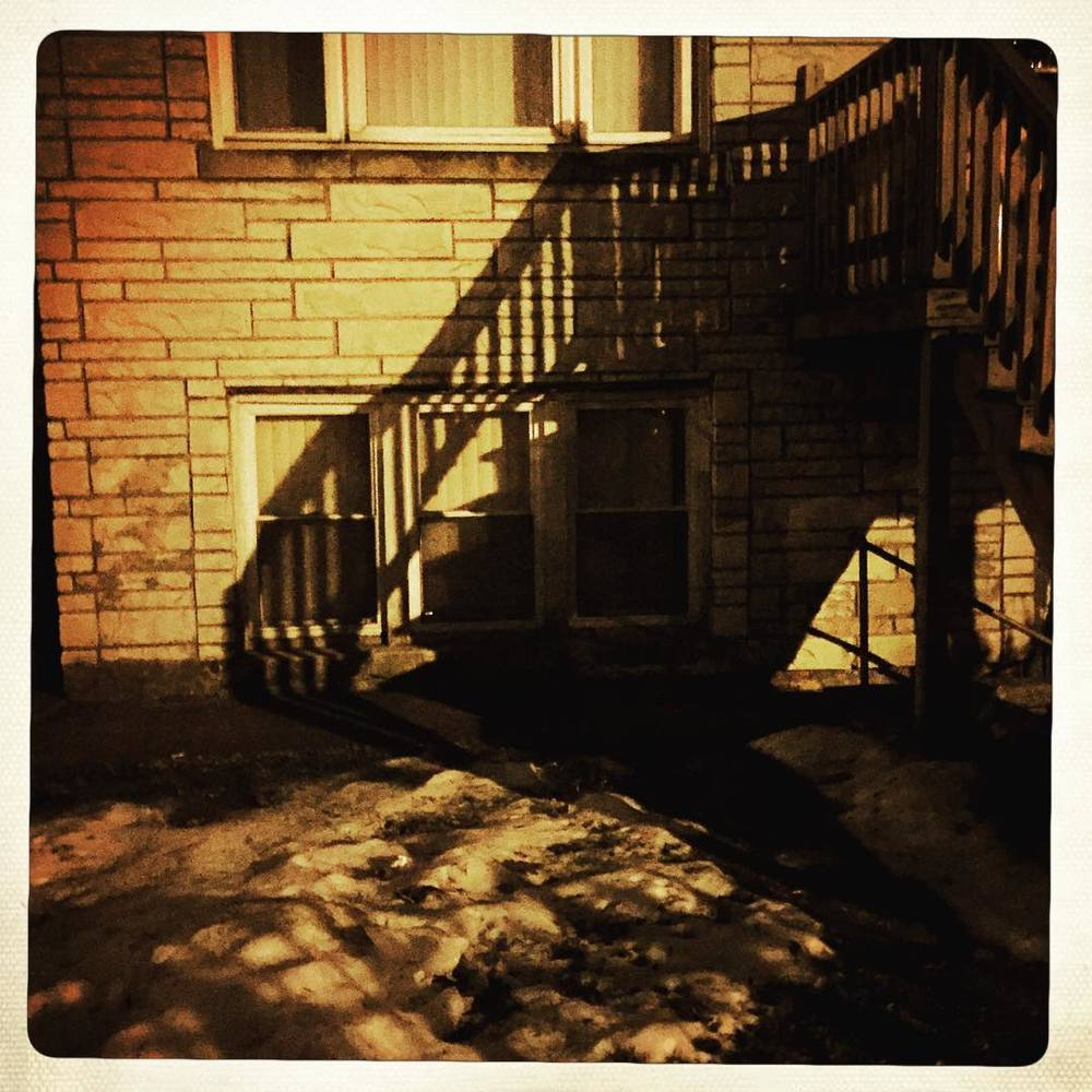 Day 55: stair shadows.