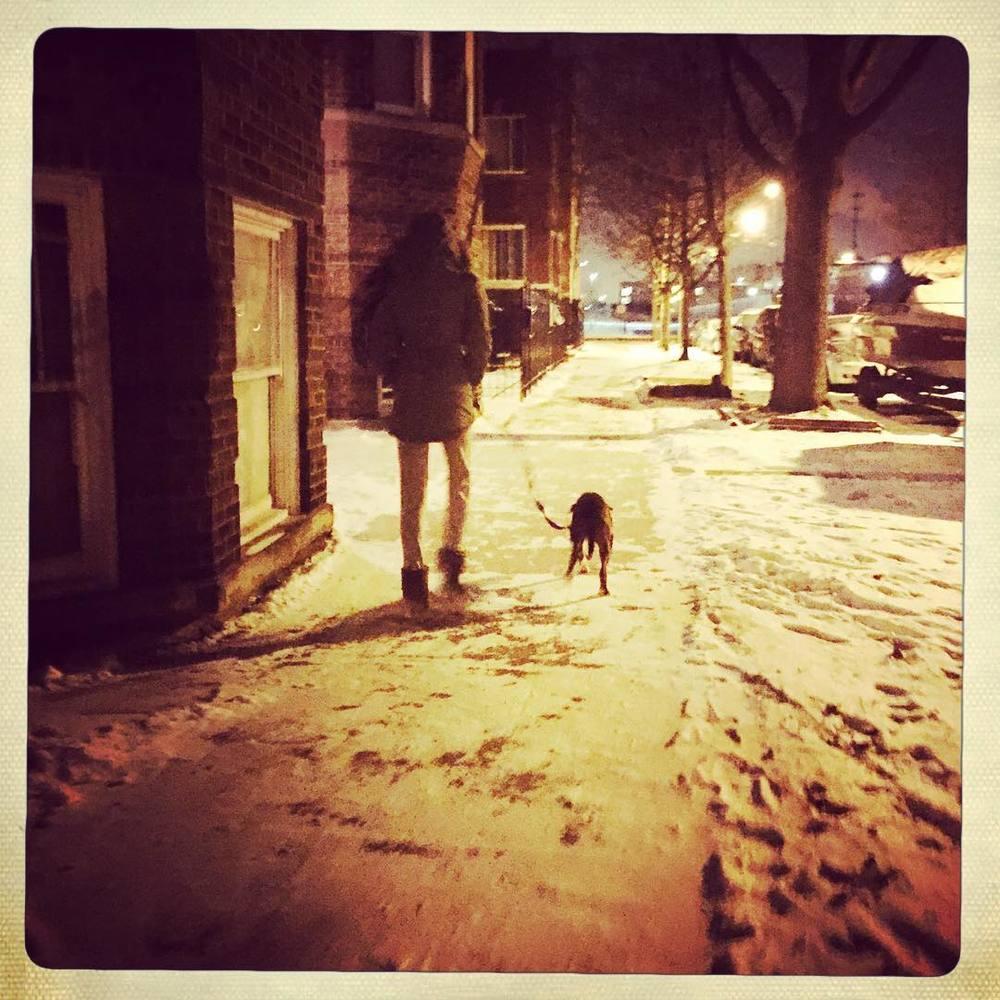 Day 68: night walk.