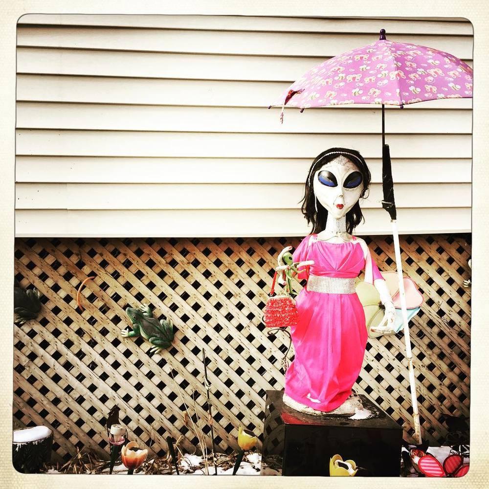 Day 69: alien in pink.