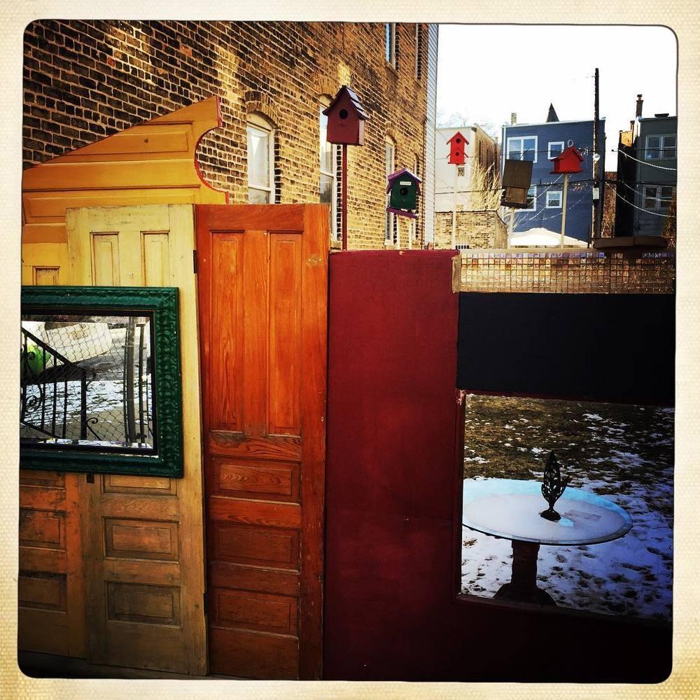 Day 72: big doors and little doors.