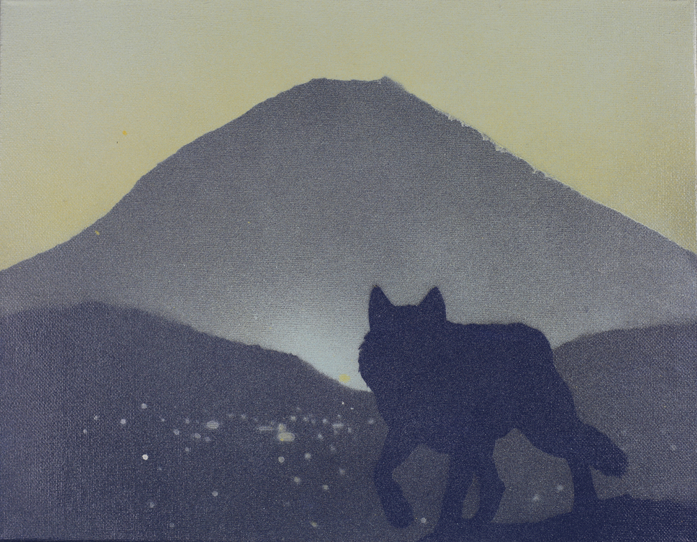 Lone Wolf 1  11x14