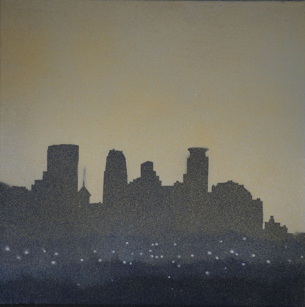 MPLS, MN     12X12 (SOLD)