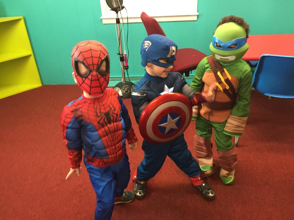 Halloween Superheroes!