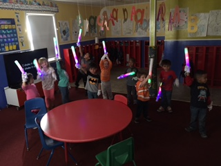dance party in the school