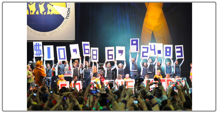 Fundraising Results at Thon