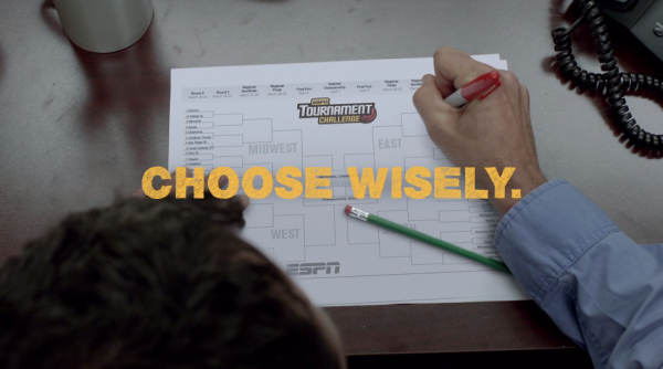 Choose Wisely - NCAA March Madness