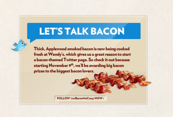 Wendys Lets Talk Bacon