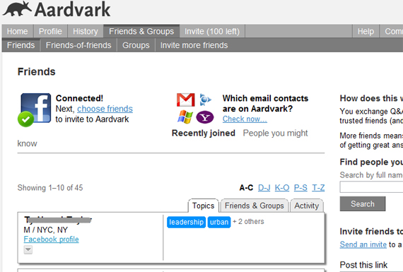 aardvark-facebook-connect-connections