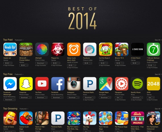 best of itunes 2014